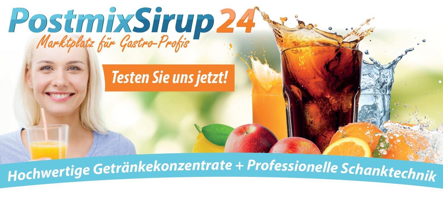 PostmixSirup24-testen Sie uns