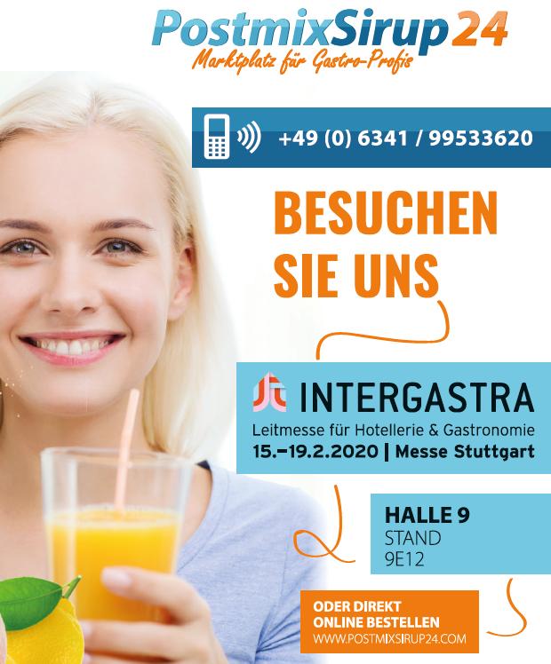 Intergastra 2020, Postmix